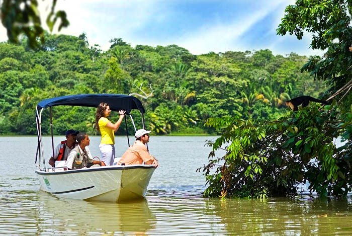 Gamboa Lake, jungle tour and kayak
